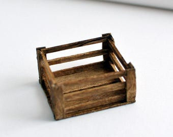 miniature wooden for diorama 1/18