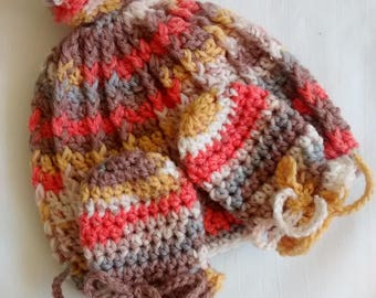 Baby Hat and Mittens Set - Newborn