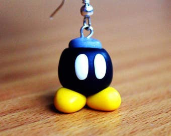 Earrings pump Mario Bros
