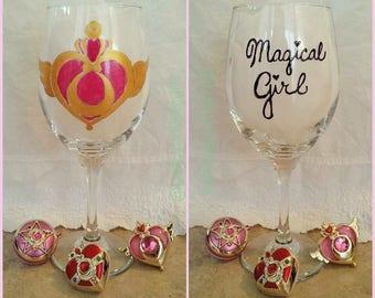 Sailor Moon Magical Girl Wine Glass