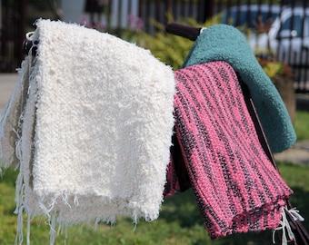Handwoven Rugs / Cotton Rugs / Boho Rugs / Shabby Chic Rugs
