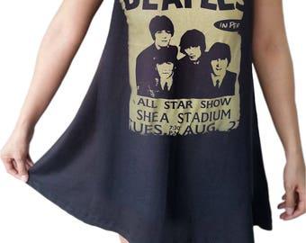 BEATLES Black dresses rock Metal  A-015