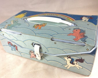 My Little Pony Purse or Carrying Case Box 80s Hasbro Rare