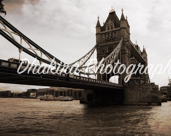 Tower Bridge, London, England- Photography