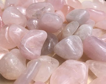 Tumbled Rose Quartz Crystals
