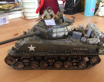 Custom built 1/35 Tamiya M4A3E8