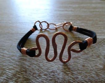 Unique design Copper bracelet