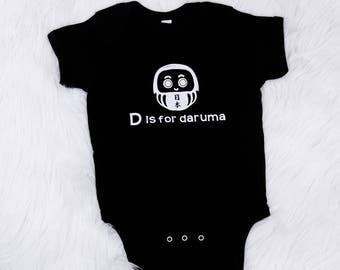 D is for Daruma Onesie