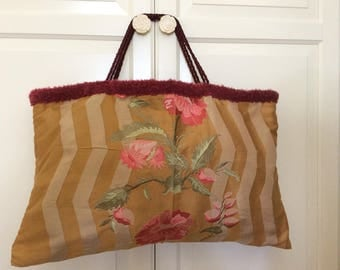embroidery bag/purse embroidered