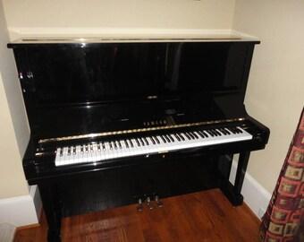 """Yamaha U3 52"""" Professional Vertical Upright piano"""