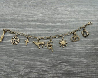 True Blood Charm Bracelet