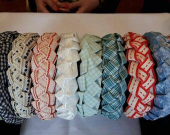 Chain-link Lovelies plaited headband
