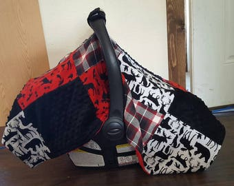 Patchwork Carseat Cover