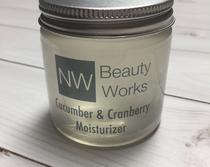 Featured listing image: Never Greasy Daily Moisturizer | Cucumber & Cranberry Moisturizer | All over body moisturizer! | Sensitive Skin Safe | 4 OZ