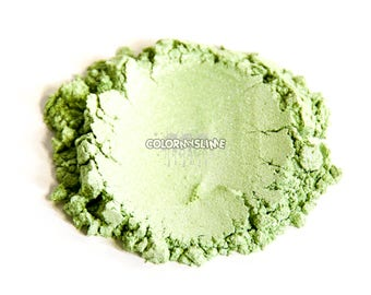 Peppermint Colored Powdered Pigment for Slime Nailpolish Crafts Makeup