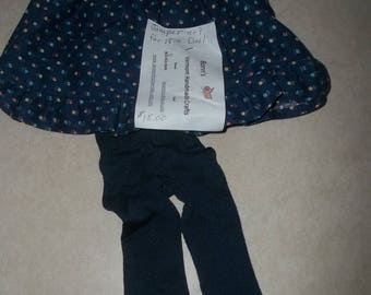 Vt Handmade Doll Accessories:  Doll Jumper With Tights