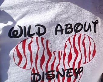 Wild About Disney Shirts Animal Kingdom