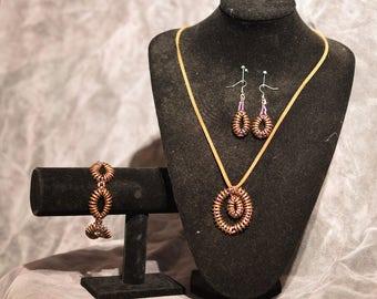 Harvest Jewelry Set Handmate
