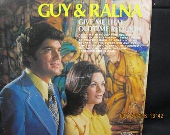 """Guy & Ralna """"Give Me That Old Time Religion"""" - Ranwood Records (1973)"""