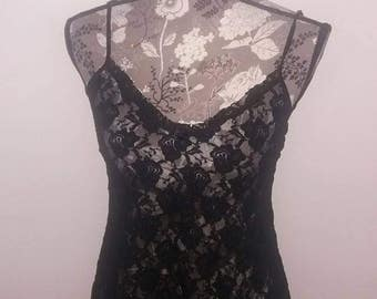 Lace Nightie      size Large