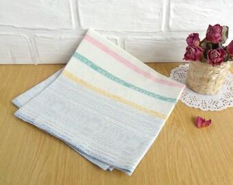 Kitchen Towel, Linen Towel, Vintage Towel, Hand Dishtowel, cotton kitchen towel, vintage towel, kitchen decor, USSR linen towel, Dish towel