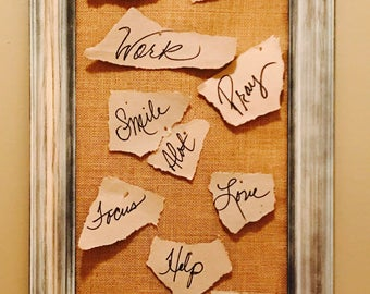 Distressed Message Board