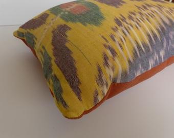 Uzbek Ikat Pillow 13 x 21