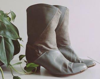 VINTAGE 80's Western Dingo Boots
