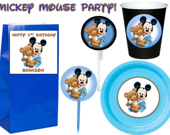 Mickey mouse Party 12pcs.