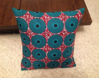 A Set Of 3 African print cushion covers