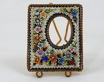 Antique Micromosaic Miniature Frame