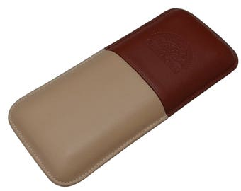 Leather Cigar Case H.UPMANN