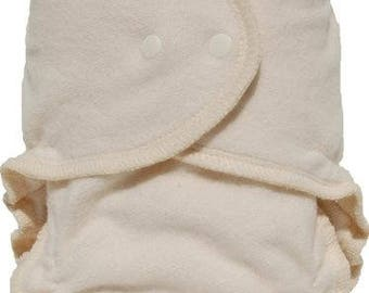 Growing Greens - Organic Cotton Fitted One-Size Diapers