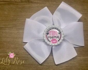 Mini Mama Pinwheel Bow