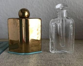 Tiny vintage perfume bottles