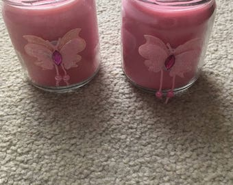 Homemade Soy Wax Candle Floss X2!!