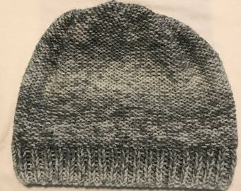 Gray Variegated Beanie