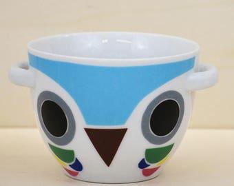 Breakfast Bowl model blue OWL