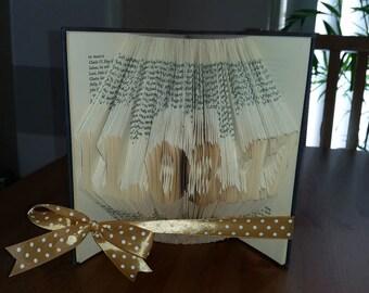 Custom Date Folded book