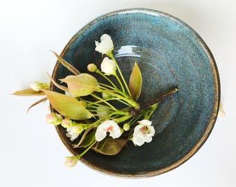 Unique dinnerware, stoneware dinnerware, ceramic pasta bowl, pasta bowl, pottery pasta bowl, natural pottery bowl, wheelthrown bowl