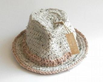 Crochet Trilby Hat