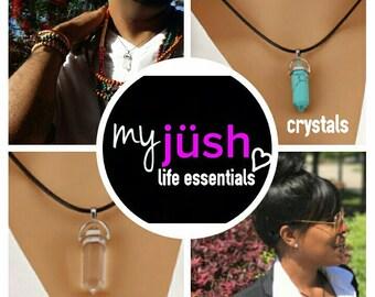 myjüsh lifestyle essentials: Vintage High Healing Crystal Gem Stones