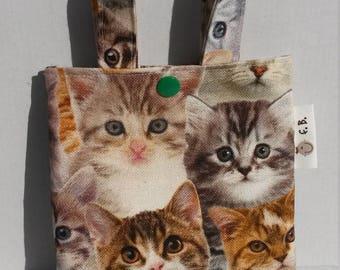 gift bag children bag cats cloth bag