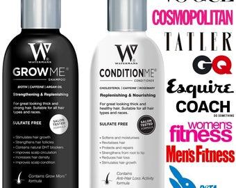 Hair Growth Shampoo & Conditioner - Grow Hair Fast - Stop Hair loss