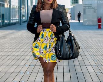 Skirt short woman wax tissue