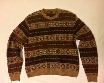 Timberland weathergear vintage woollen sweater/pullover
