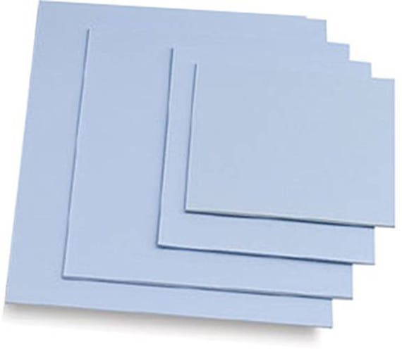 Carving sheets studio pack of easy to cut blue soft