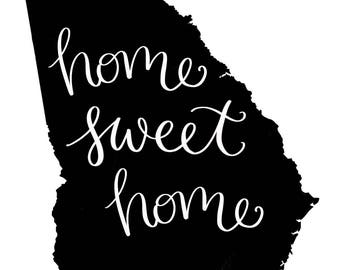 Home Sweet Home GA - Digital Download