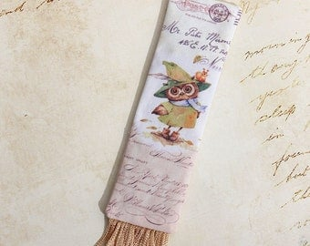 Storia - handmade bookmark fabric filled with lavander