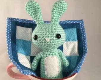 Crochet, Amigurumi, Handmade, Bunny, Crochet Bunny, Stuffed Animal, Made to Order